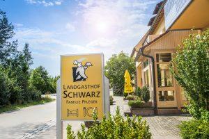 Eingangsbereich | Landgasthof Schwarz, Veitsaurach H7 in 91575 Windsbach